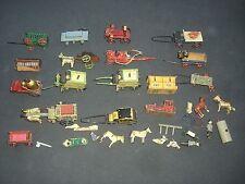A/ Posten Rare Erzgebirge Spielzeug e Holz mit Zinnräder von 1915 zum herrichten