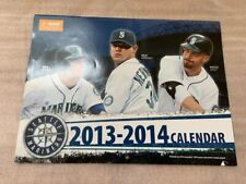 NEW SEATTLE MARINERS BASEBALL CALENDAR 2013-2014
