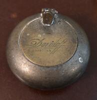Davidoff Travel Pocket Ashtray Vintage Antique
