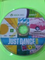 JUST DANCE KIDS 2014 XBOX 360 AUS PAL VGC FAMILY KINECT DISC & CASE ONLY