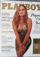 Playboy OZ 1991 June~Teresa Linnane Playmate Year,Julie Clarke centrefold *NM*