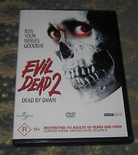 The Evil Dead 2: Dead By Dawn (DVD, 1987) - MINT - FREE SHIPPING - RARE OOP