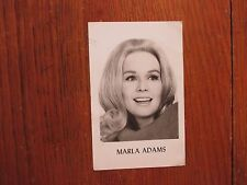 MARLA ADAMS(The Secret Storm/The Young and the Restless)Signed 3x5 Postcard-Foto