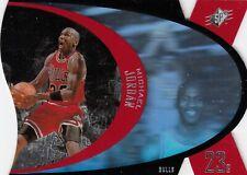 1996/97 UD UPPER DECK SPX MICHAEL JORDAN DIE CUT HOLO SAMPLE PROMO CARD