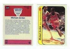 1986 Fleer Micheal Jordan RC Sticker Card RP (Card not sticker)