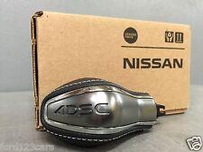 2016 Nissan Maxima 4DSC White Stitching Brushed Satin Shift Knob T99N6-4RA3A
