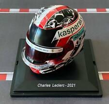NEWS: CASCO HELMET F1 CHARLES LECLERC 2021 SPARK 1:5 +BOX+MAGAZINE no MINICHAMPS