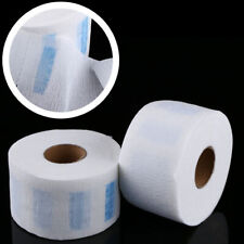 100pcs/Roll Stretchy Disposable Neck Paper Strips Barber Hairdressing Sale T1U