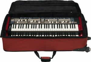 Nord Soft Case w/ wheels for Nord C1/C2/C2D Organs, Red , GBC //ARMENS//