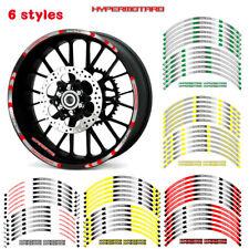 "17"" Outer Wheel Rim Reflective Sticker For Ducati Hypermotard 1100/EVO/S #style1"