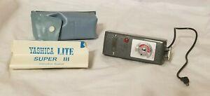 Vintage Yashica Lite Super 3 flash gun folding reflector flashgun Made in Japan