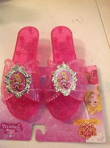 Disney sleeping beauty pink girl shoes