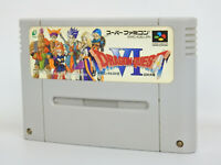 Super Famicom DRAGON QUEST VI 6 Cartridge Only Nintendo Japan sfc