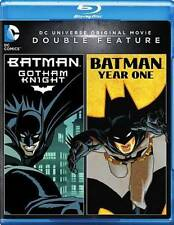 BATMAN: GOTHAM KNIGHT/BATMAN: YEAR ONE NEW BLU-RAY