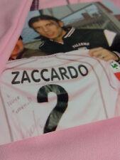Maglia Palermo Lotto Zaccardo Autografata Patch Italia Serie A Match Worn