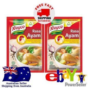 2x Royco Rasa Ayam Instant Seasoning Chicken Flavour Cooking Broth 100g Halal