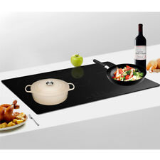 PANANA 9300w 90cm 5 Zone Built-in Touch Control Induction Hob in Black