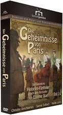 """2 DVDs * DIE GEHEIMNISSE VON PARIS - TEIL 1 - 5 # NEU OVP """""""