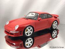 GT Spirit Ruf Turbo R Porsche 911 (964) Turbo Red Resin Car Model 1:18