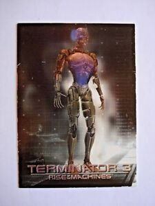 2003 COMIC IMAGES *TERMINATOR 3: RISE OF THE MACHINES* FOIL CHASE CARD C3