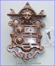 Messing Klingel Deurbel Sonnette Door Bell 2 Klingelschild Klingelplatte K33A