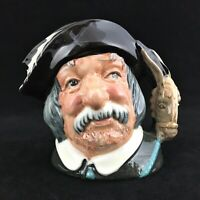 Medium Size Royal Doulton Toby Mug Jug Sancho Panca D 6461 MINT