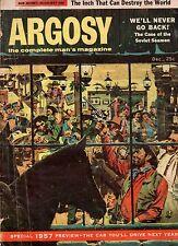 1956 Argosy December-Gen. Curtis Lemay; Erle Stanley Gardner; Water buffalo hunt