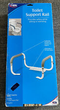 Carex Toilet Safety Support Rails with Adjustable Width *NEW IN BOX*