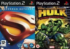 Superman Returns & the incredible hulk ultimate destruction     PS2  PAL FORMAT