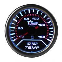 """Universal Car Motor 2"""" 52mm Smoke Lens LED Water Temperature Temp Gauge Meter"""