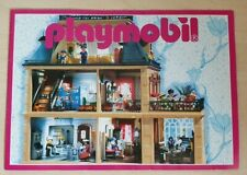 Vintage Playmobil Brochure 1995 Victorian Mansion House Cover