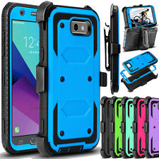 For Samsung Galaxy J3 Emerge/ Prime/ Luna Pro Phone Case Hybrid Clip Stand Cover