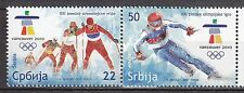 SERBIA 2010 **MNH  SC#  Winter Olympic Games - Vancouver