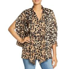 Kenneth Cole New York Womens 3/4 Sleeves Office Wear Blouse Top BHFO 5302