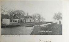 DELAWARE CITY LOCK DELAWARE POSTCARD 1907