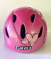 Pink Girls GIRO Ski Helmet Size Small - Holds Goggles