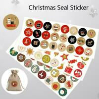 24Pcs stickers Christmas Advent Calendar 1-24 number tags stocking stuffers gift