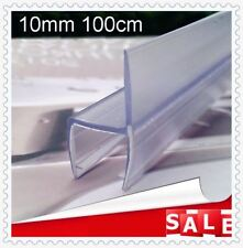 BATHROOM PVC PLASTIC SHOWERSCREEN SHOWER SCREEN DOOR WATER SEAL STRIP 10mm 100cm
