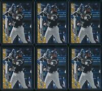 2020 Topps Complete Set #392 Luis Robert Gold Stars Parallel RC 6 Card Lot