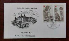 Fdc timbre Belgique n° 1454/55 Croix-Rouge de Belgique