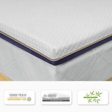 BedStory Matratze Topper H3 Bambuskohle-Schaum 9 Zonen Matratzenauflage 7,6CM