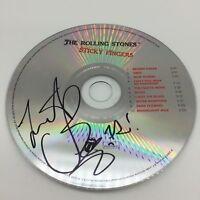 RARE Charlie Watts Rolling Stones Signed CD Album + COA AUTOGRAPH THE STONES