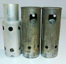 "Tube Shields Philco 60 & other models 2- 4.25"" Height, 1- 4.5"""