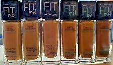 Maybelline FIT ME MATTE + PORELESS Liquid Foundation Makeup You Choose