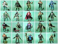 "Hasbro Toys GI JOE Cobra 3.75"" action figures lot - choice of 20"