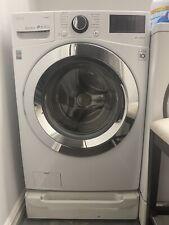 """New listing Lg Wm3700Hva 27"""" White Front-Load Washer"""