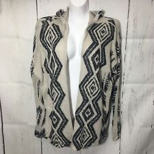 Cute Hooded Thin Tribal Cardigan Sweater XL Juniors Daytrip