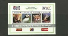 BIOT SGMS235 THE STAMP SHOW 2000 MINI SHEET MNH