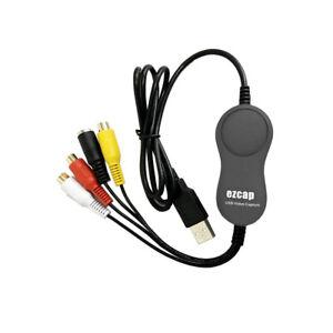 USB 2.0 Recording Converter DVR EZCAP159 Capture Card Video Capture Adapter-.