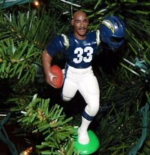 ronnie HARMON san diego CHARGERS xmas NFL football ornament HOLIDAY vtg JERSEY